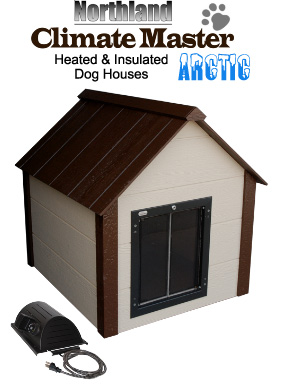 Extra Large Climate Master Arctic Insulated Dog House
