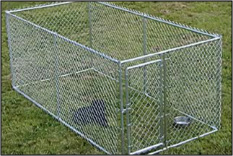 Chain Link Kennel Kit 5