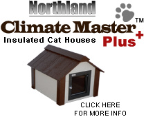 Climate Master Plus Insulated Cat House