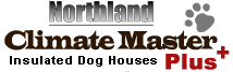 Climate Master Plus Insulated Dog Houses