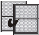 Upgrade a Standard Wall Panel to an Extra Gate (5W x 6H)