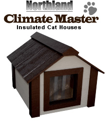 Insulated outdoor cat house for Insulated dog houses for winter