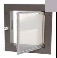 Silver Small Wall Mounted Dog Door